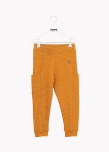THIGH POCKET PANTS, Earth Brown, Streak Effect