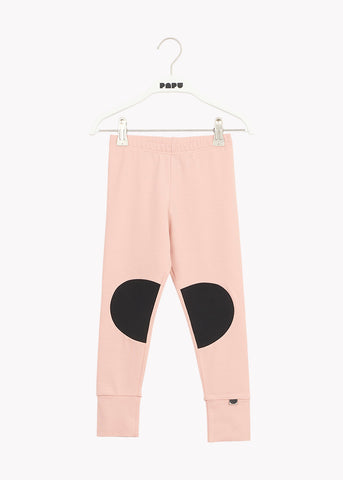 PATCH LEGGINGS, Dusty Pink/Black