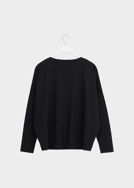 GIANT SHIRT, Black, Lyocell, Adults