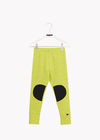 PATCH LEGGINGS, Lemon/Black
