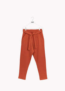 CARROT PANTS, Sugar Brown, Adults