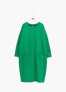 GIANT SPLIT DRESS, Loud Green, Adults