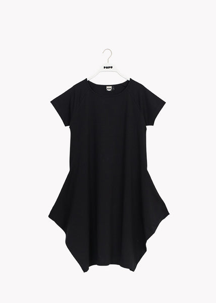 KANTO DRESS, Black, Adults, short sleeve