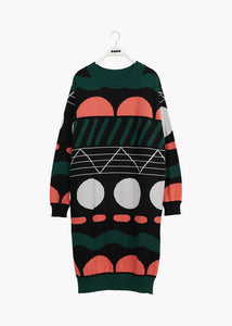 POLO KNIT DRESS, Doodle, Women