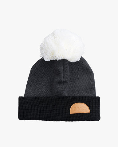 MULTICOLOR WOOL BEANIE, Black/Grey/White, Adults