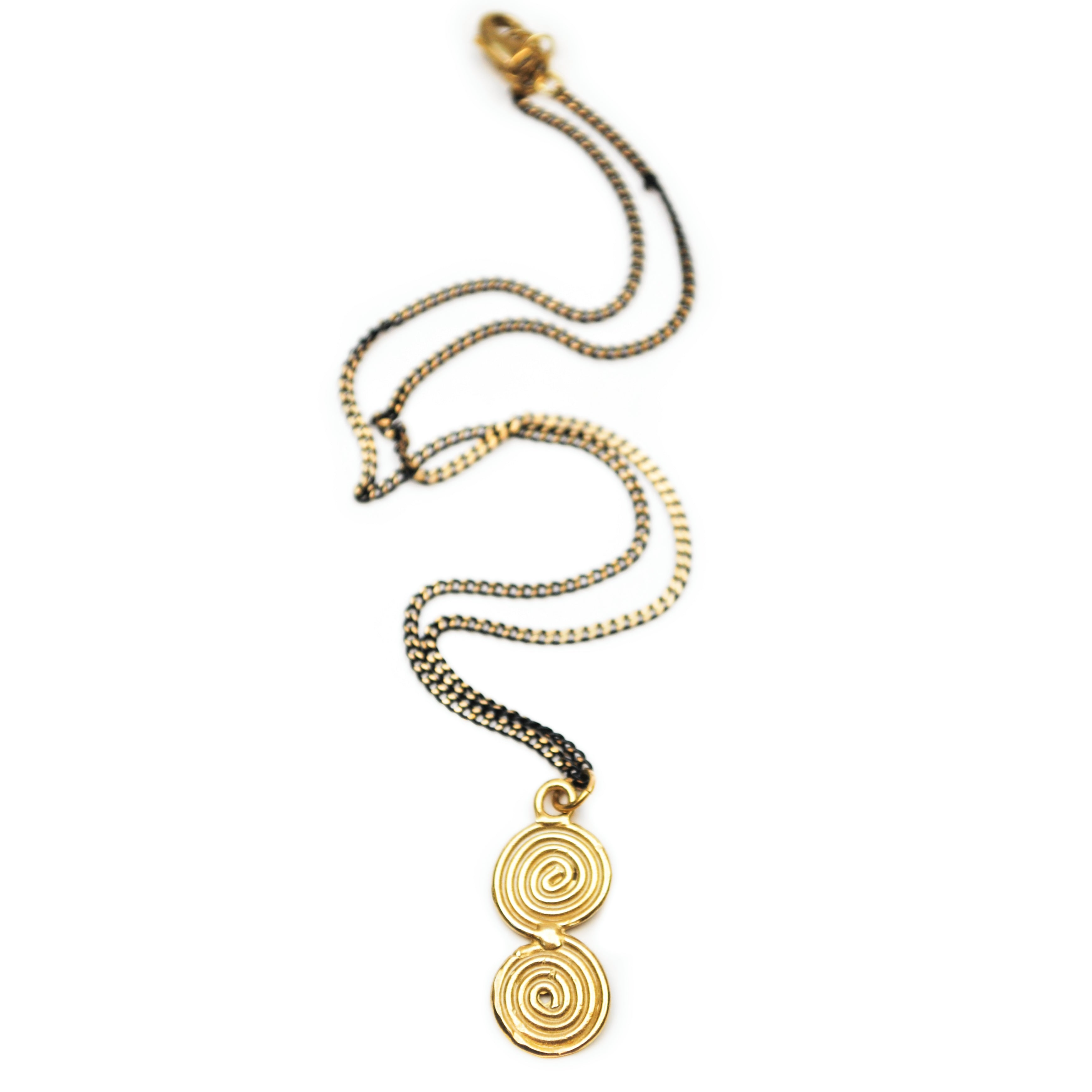 Sacred Spiral Necklace