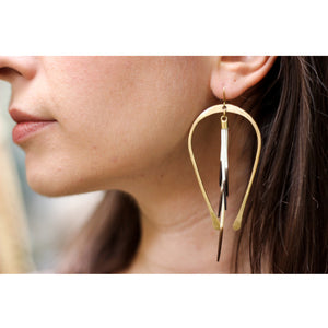 Extra Long Horseshoe Quill Hoops