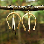 Horseshoe Quill Hoops
