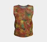 Autumn Leaves Loose Tank top (Regular)