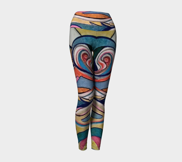 Ocean of Dreams Yoga Leggings
