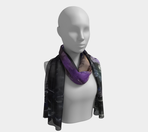 Cosmos Oblong Scarf