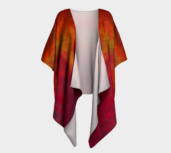 Fires of Creation Draped Kimono