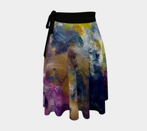 Mystic Adventure Wrap skirt