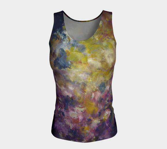 Mystic Adventure Fitted Tank Top