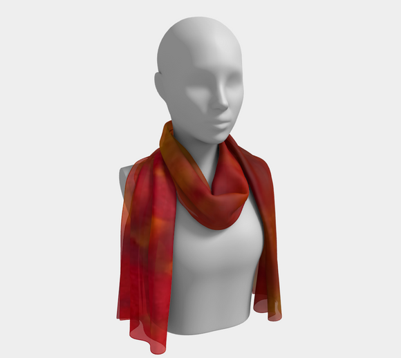Fires of Creation Oblong Scarf
