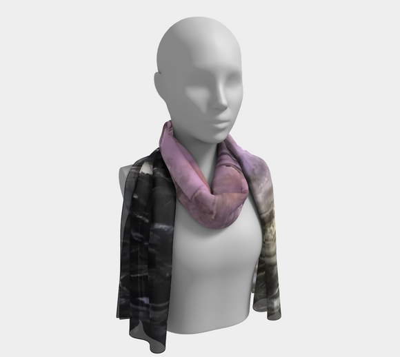 Cosmos2 Oblong Scarf