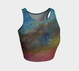 Divine Emanations Athletic Crop Top