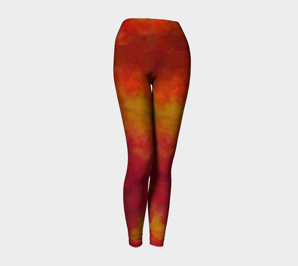 Fires of Creation Yoga Leggings