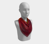 Fires of Creation Square Scarf