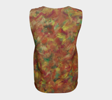 Autumn Leaves Loose Tank Top (Long)