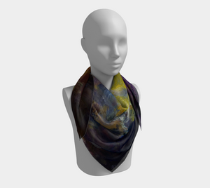 Mystic Adventure Square Scarf