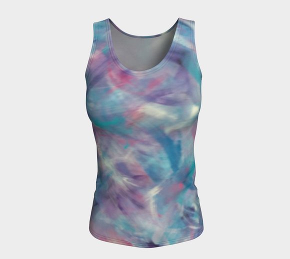 Tranquility Fitted Tank Top (Long)