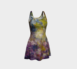 Mystic Adventure Flared Dress