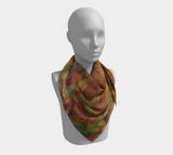 Autumn Leaves Square Scarf