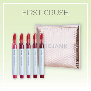 First Crush Glossy Tint Lipstick Lacquer Set - 5 Pack