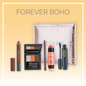 Natural Glow K-Beauty Essentials Makeup 5pc Set (Forever Boho)