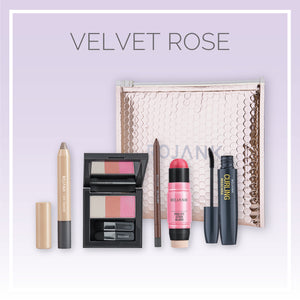 Rose Natural Glow K-Beauty Essentials Makeup Gift Set - 5 Pack
