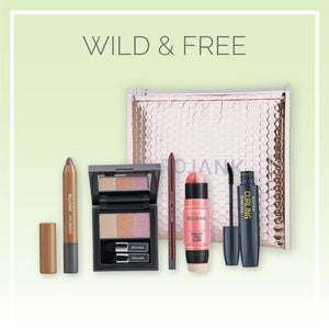 Natural Glow K-Beauty Essentials Makeup 5pc Set (Wild & Free)