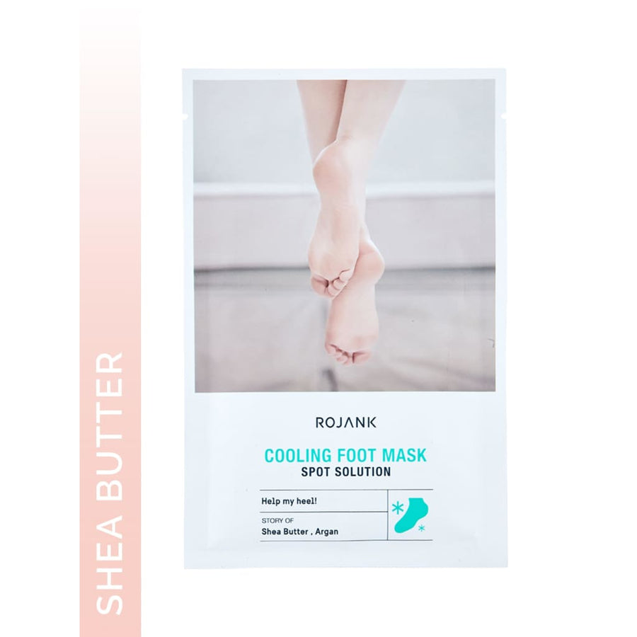 Intense Moisturing Mint Cooling Foot TreatmentMask - Sheet Mask