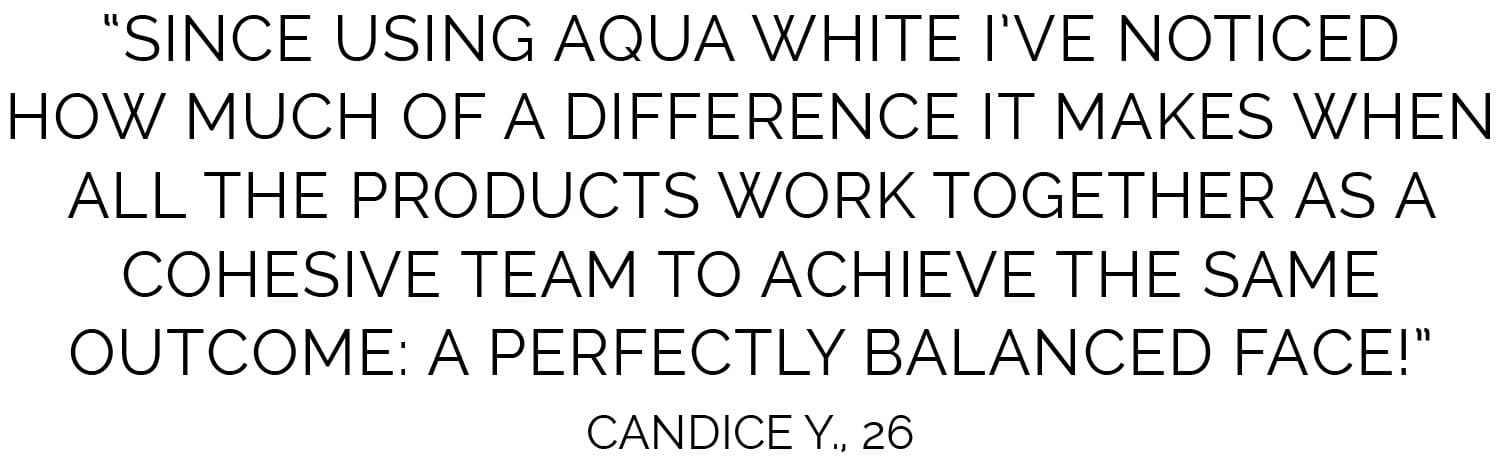 Aqua White Luminous Emulsion