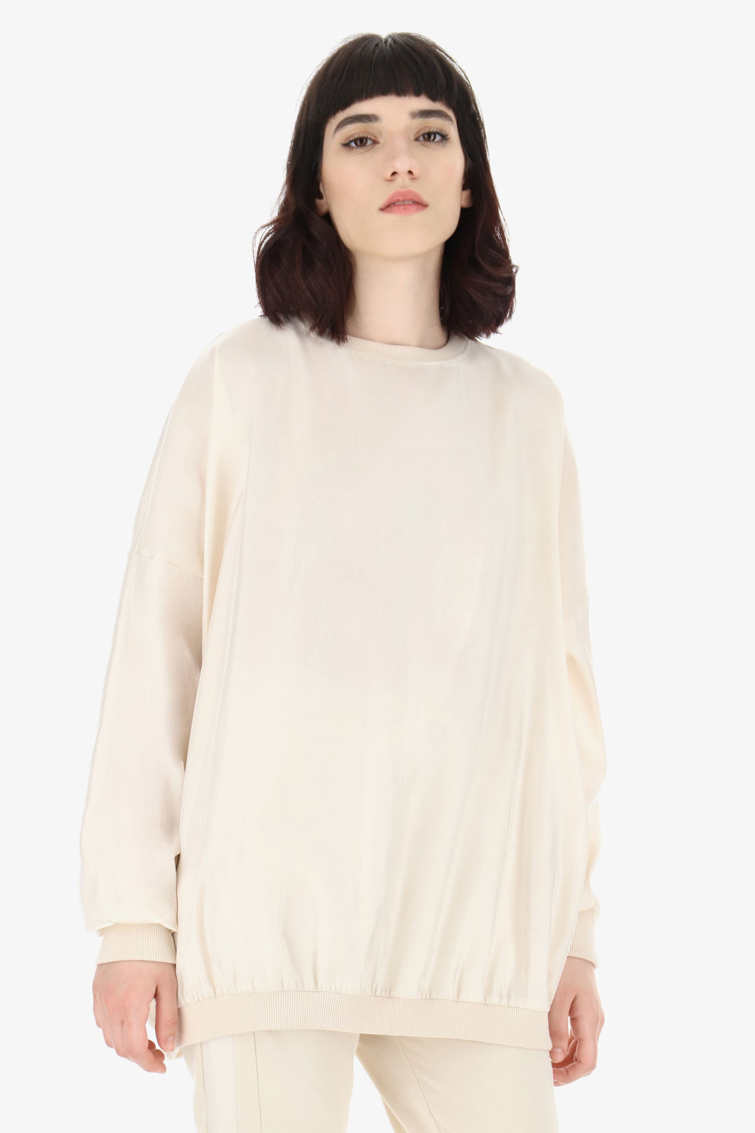 IMPERIAL | OVERSIZED ROUND-NECK SWEATSHIRT