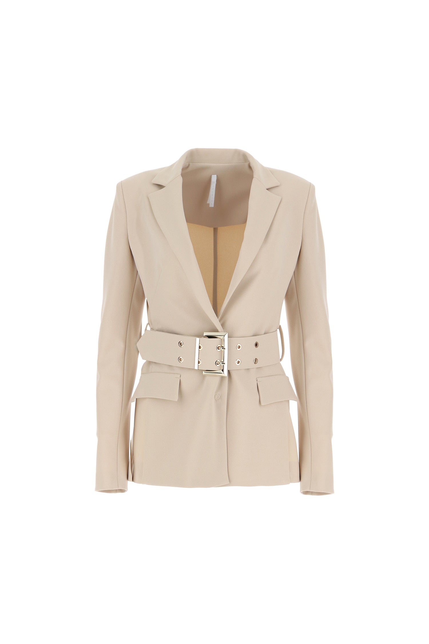 IMPERIAL | FITTED BLAZER WITH BELTED WAIST