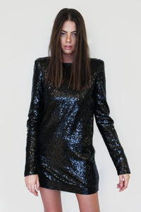 Le SLAP | Black sequin dress