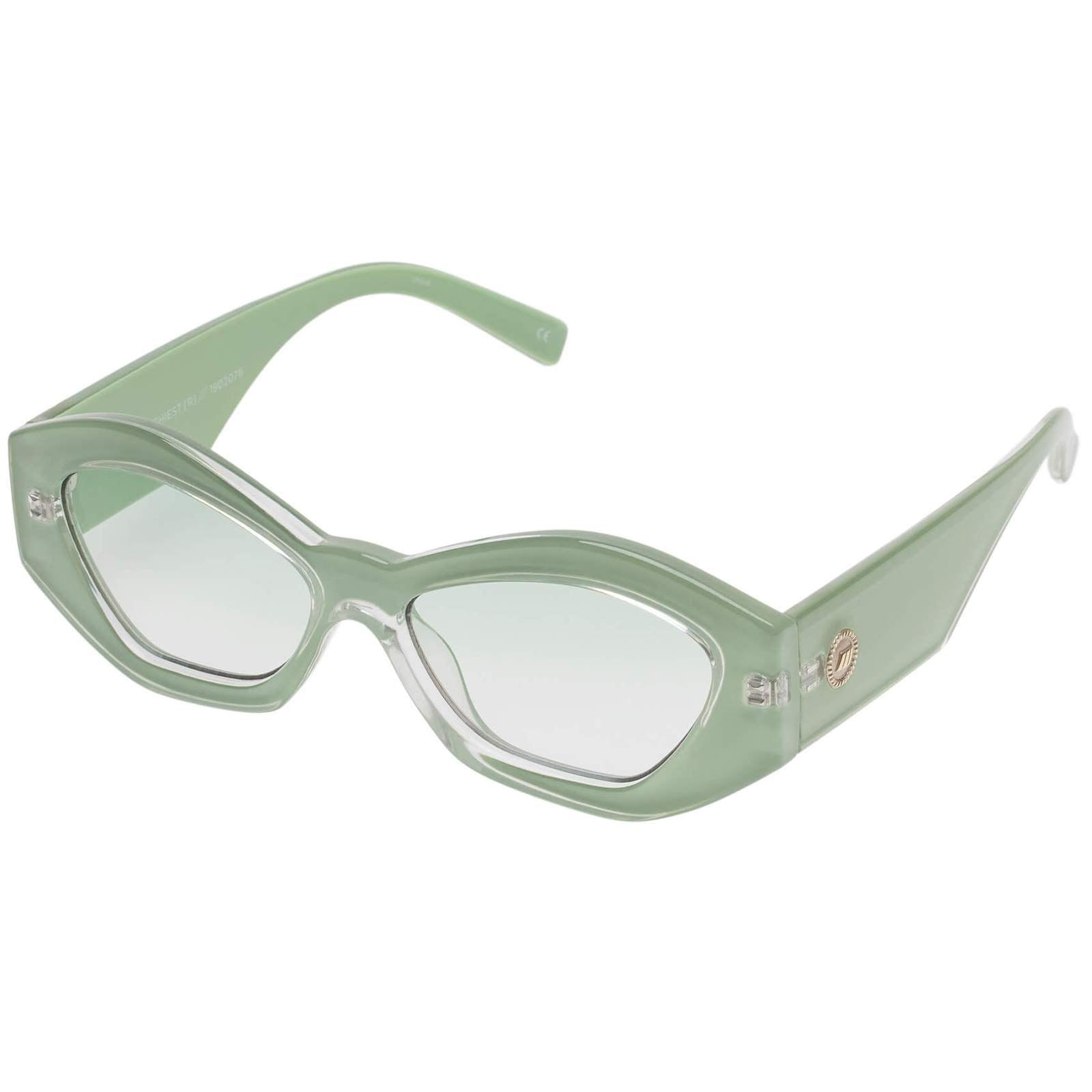Le Specs | The Ginchiest Ripple Green Sunglasses