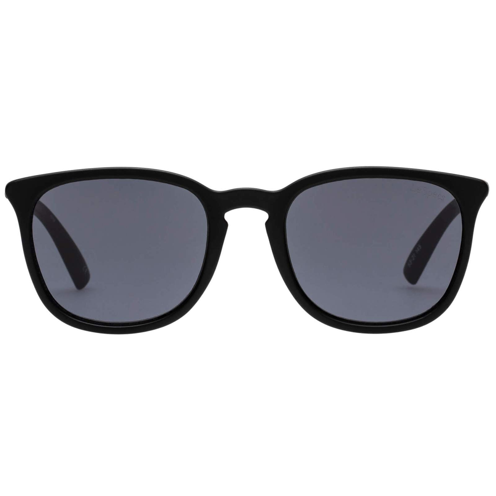 Le Specs Rebeller matte Black Sunglasses