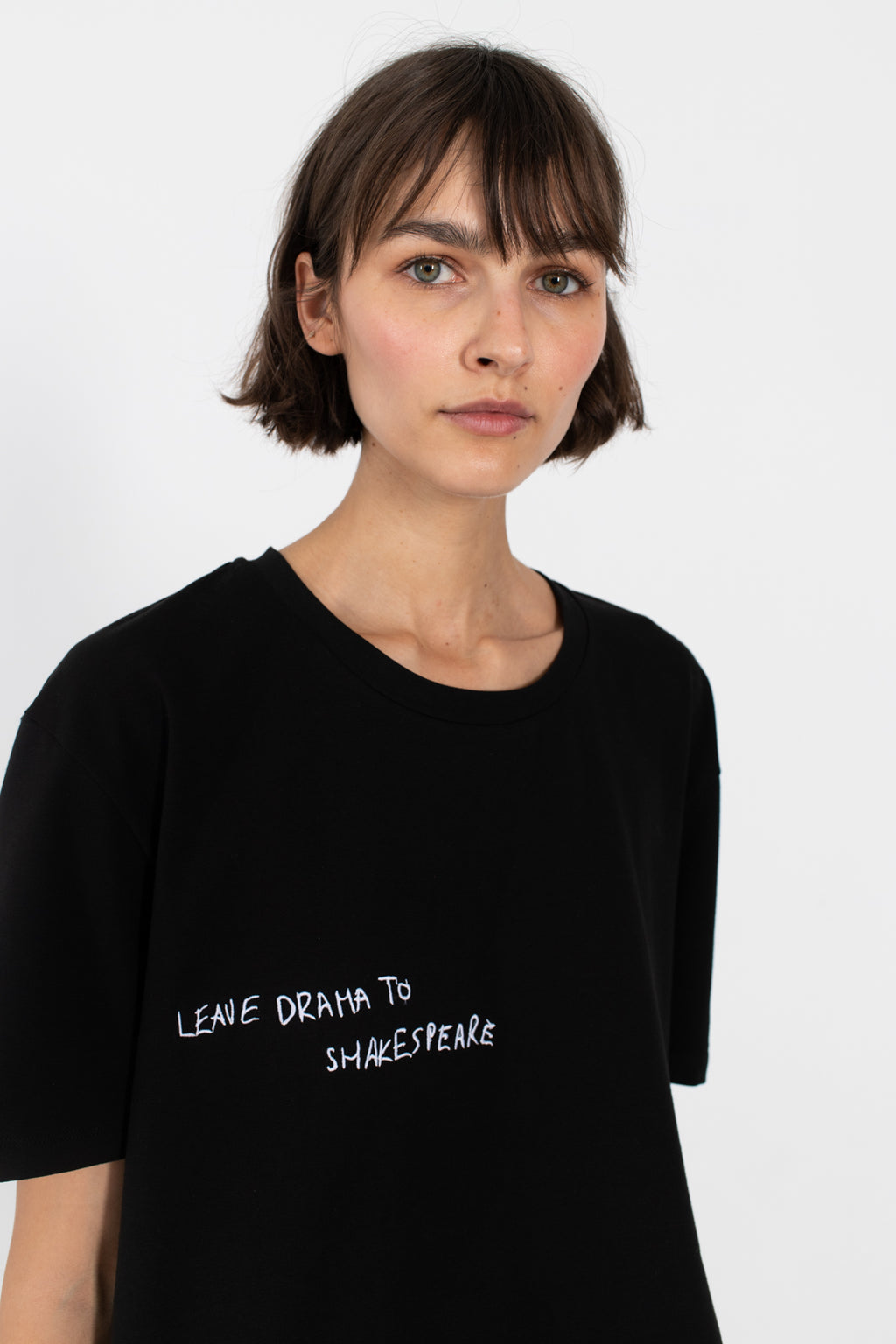 black cotton oversized unisex tshirt cotton le slap madress