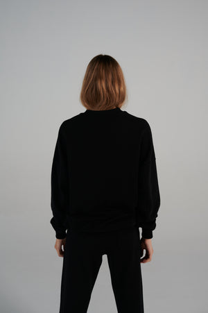Le SLAP | RUSSKI black sweatshirt