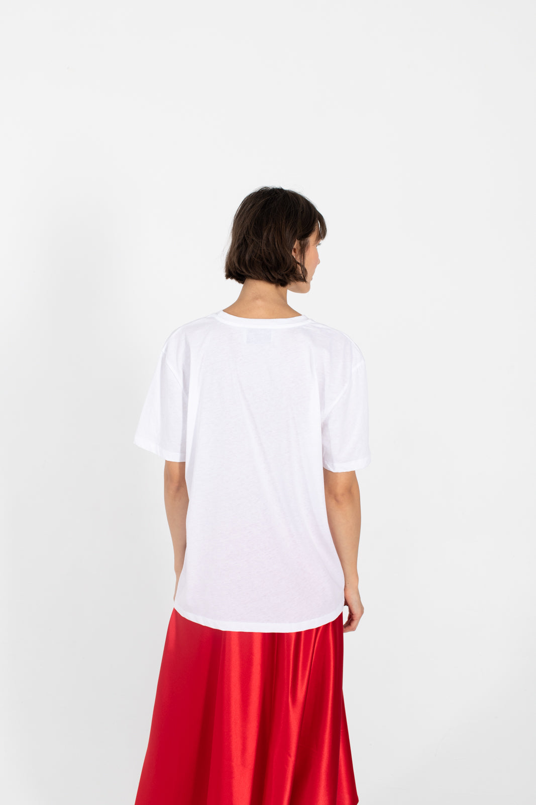 Le SLAP | RUSSKI white organic cotton t-shirt