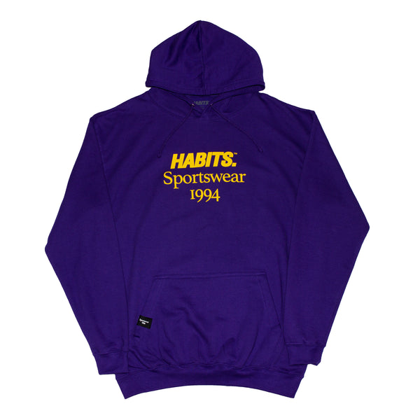 Sportswear Hood - Purple