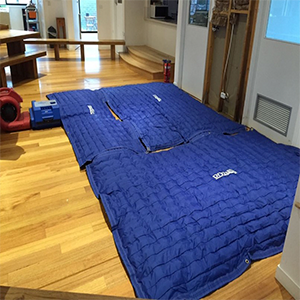 Specialized Floor and Sub-Floor Drying Mats Kit