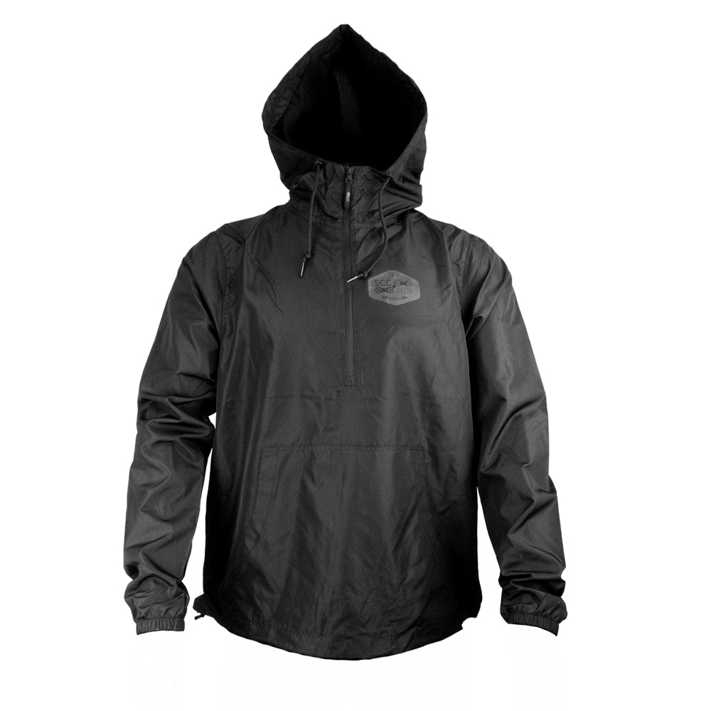 LIGHTWEIGHT PULLOVER WINDBREAKER JACKET
