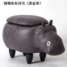 2018 Rushed No New Pouf Poire Taburetes Chair Wood Stools Shoes Hippo Designer Furniture Sofa Storage Containing Modern