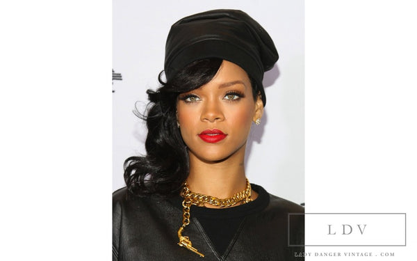 RARE! Vintage CHANEL Gun Motif Choker Necklace as seen on Rihanna