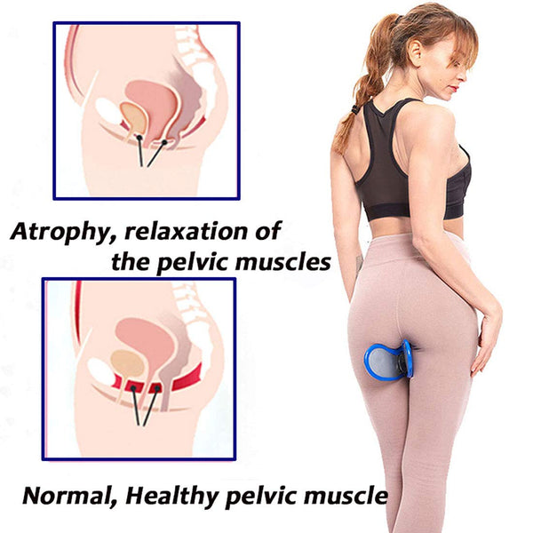 Pelvic Glute Hip Butt Kegel Trainer Muscle Strengthening