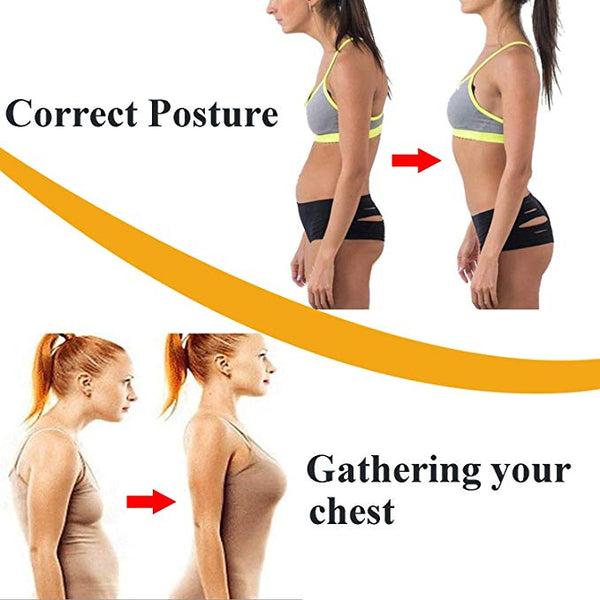 Women Posture Corrector Bra Push UP Support  Back Pain Body Shaper Corset Shoulder Brace