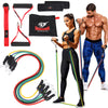 Resistance Bands Set (11pcs) with Handles, Door Anchor, Ankle Straps and Carry Bag  Armageddon Sports - Armageddon Sports